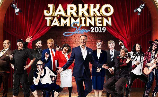 Jarkko Tamminen Show Oulu